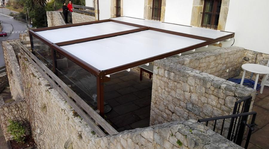 Toldos toldosbernadesign for Toldos electricos para terrazas
