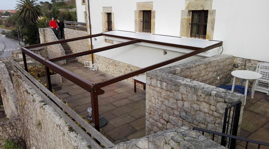 Toldos toldosbernadesign for Toldos verticales para terrazas